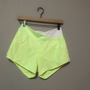 Neon Lululemon Shorts